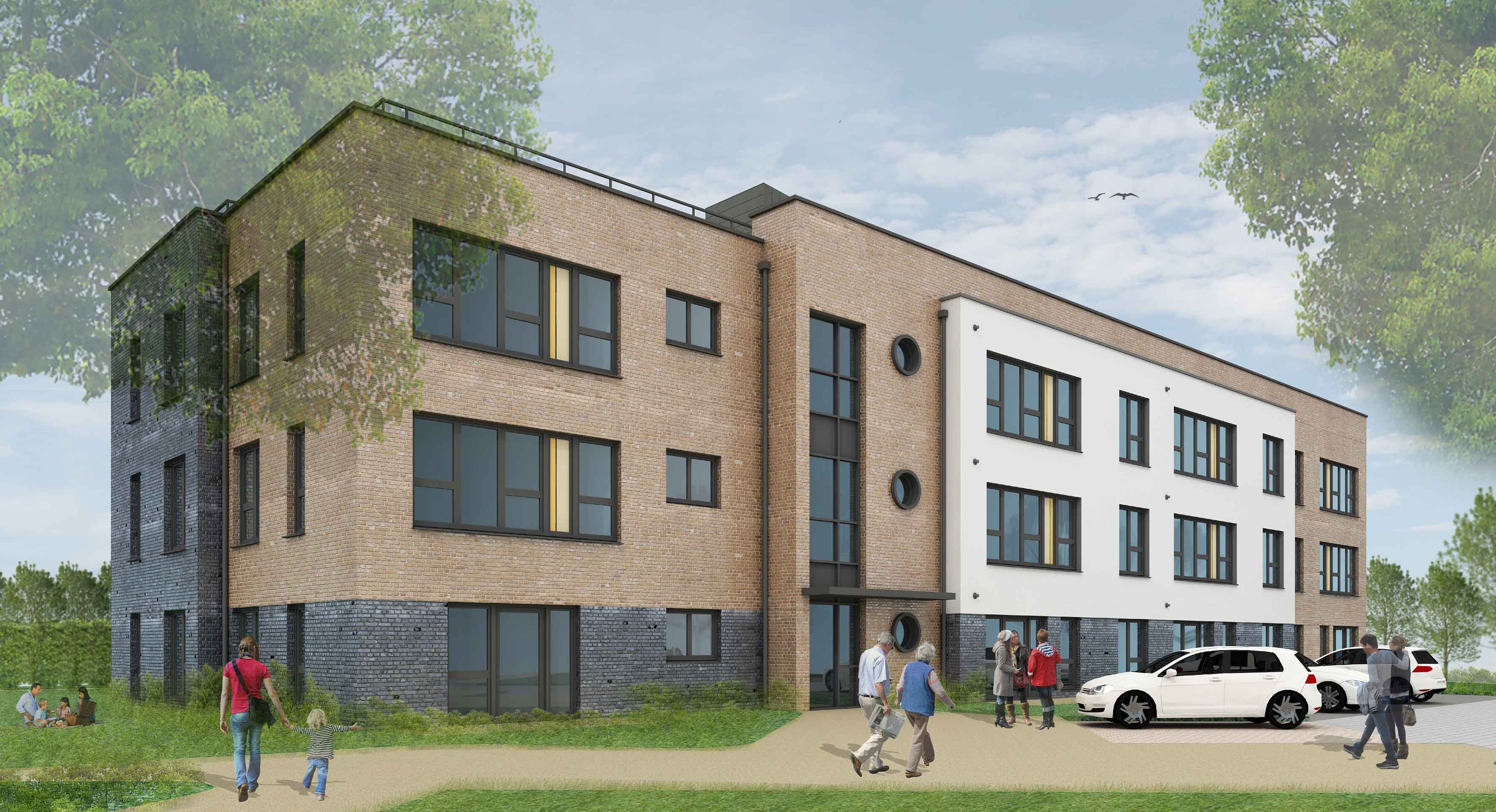 Wavell House Planning Approval, St. Albans